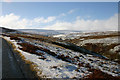 NY8844 : Snow on the moors by Malcolm Neal