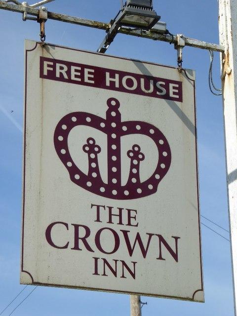 The Crown Inn, inn sign
