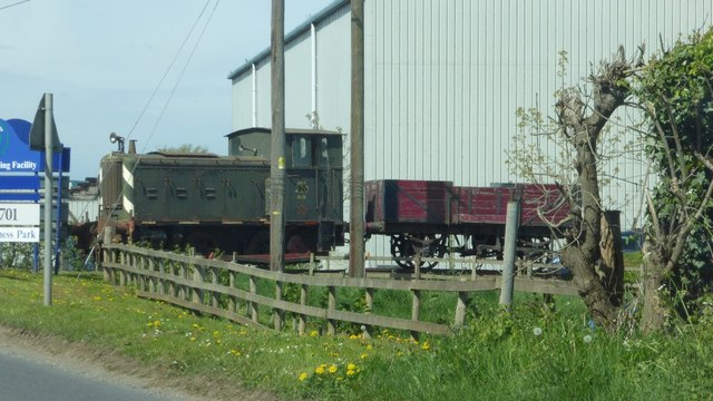 Locomotive on Rotherwas Trading Estate