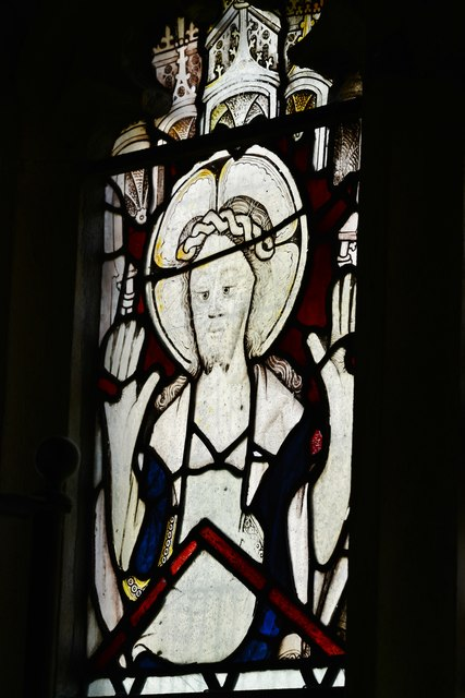 Melbury Bubb, St. Mary's Church: Stained glass window 7