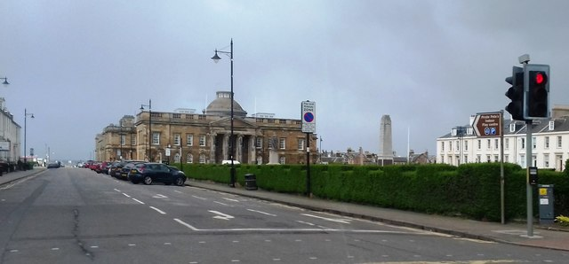 Ayr Council Offices and Court House