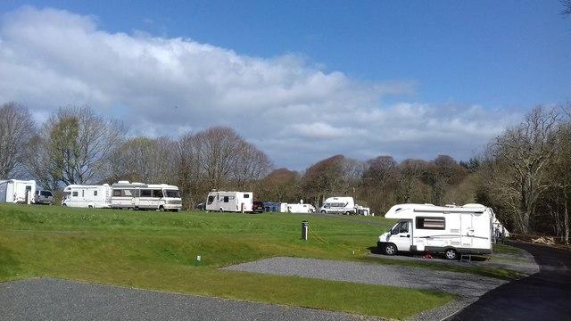 Culzean Castle Camping & Caravanning Club Site