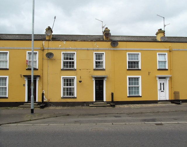 Terraced housing in Dromore Street