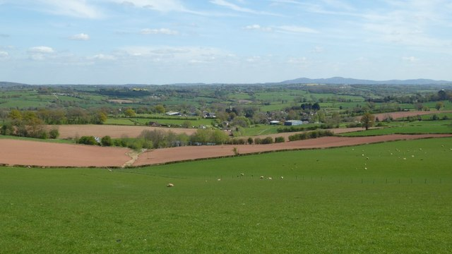 View over Pencombe