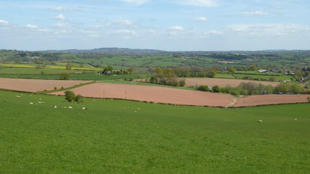 Farmland near Pencombe