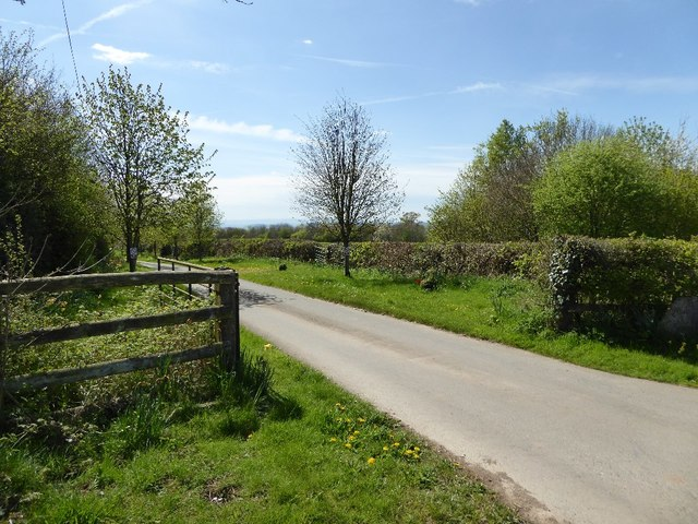 Entrance to Church House Farm