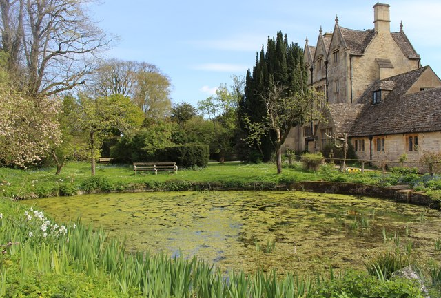 Fishpond at Whittington Court
