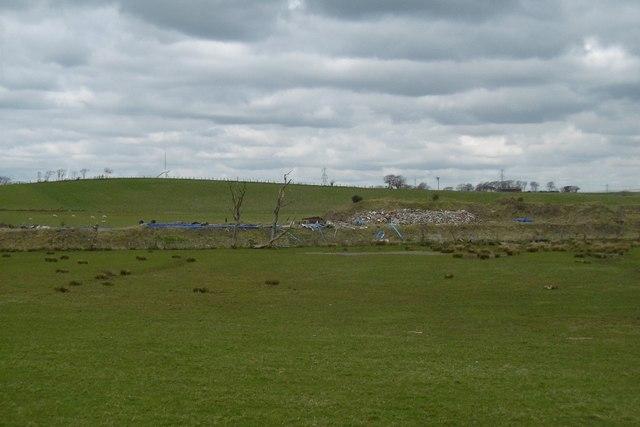 Industrial site near Burnhead