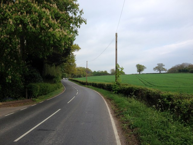Tonbridge Road, near Bough Beech