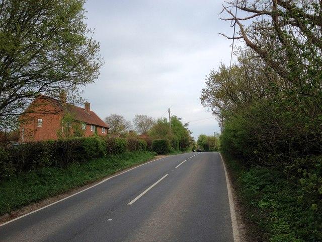 Tonbridge Road, near  Chiddingstone