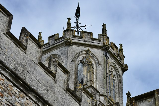 Colyton, St. Andrews Church: Tower detail 1