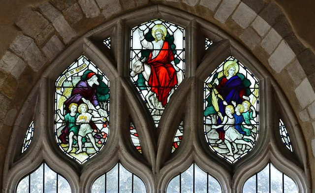 Colyton, St. Andrews Church: Stained glass window