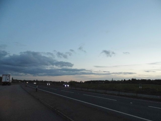 The A10, Colliers End