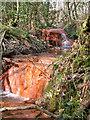 TQ7120 : Waterfalls on stream feeding Darwell Reservoir by Robin Webster