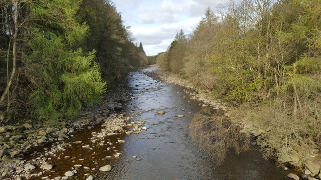 River Wear from Hag Bank Bridge