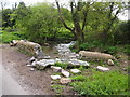 ST0169 : Bridge Over The Nant y Stepsau by Chris Andrews