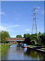 SK0516 : Private moorings near Brereton in Staffordshire by Roger  Kidd