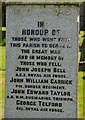 NY3250 : Thursby War Memorial - (2) by The Carlisle Kid