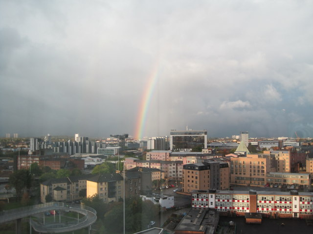 Rainbow on theClyde