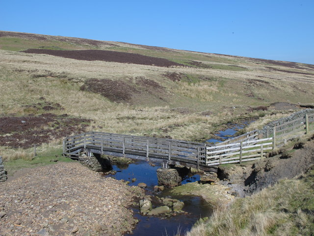 Footbridge over Quickcleugh Burn