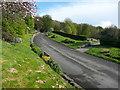 SE0924 : Driveway into Stoney Royd Cemetery, Halifax by Humphrey Bolton