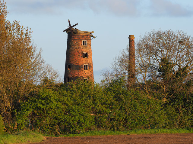 The Elstronwick old windmill
