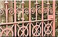 J3570 : Cast-iron gate, Knockbreda (CoI) parish church, Belfast (April 2017) by Albert Bridge