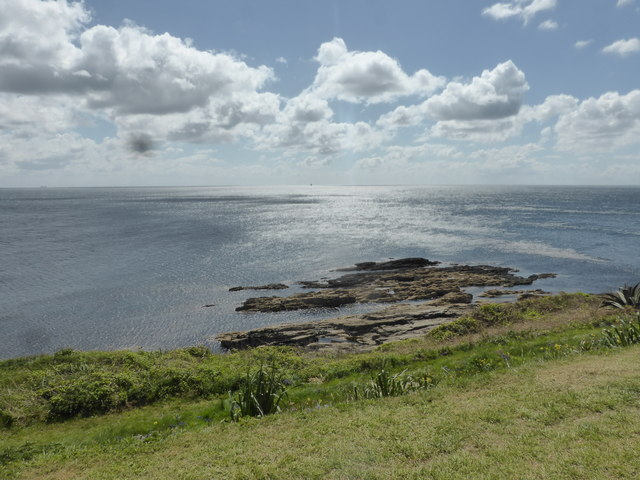 The southernmost point of St Michael's Mount