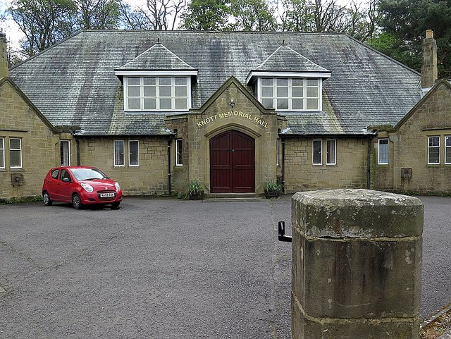 Knott Memorial Hall, Heddon on the Wall