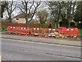 SU5750 : Work on Oakley Lane by Scriniary