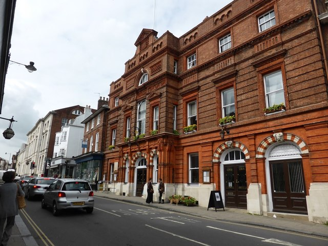 Lewes Town Council offices, High Street, Lewes