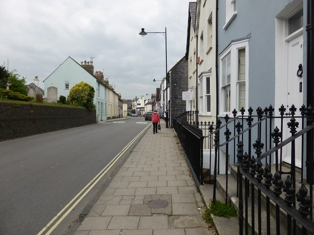 Western Road, Lewes, opposite St Anne's church