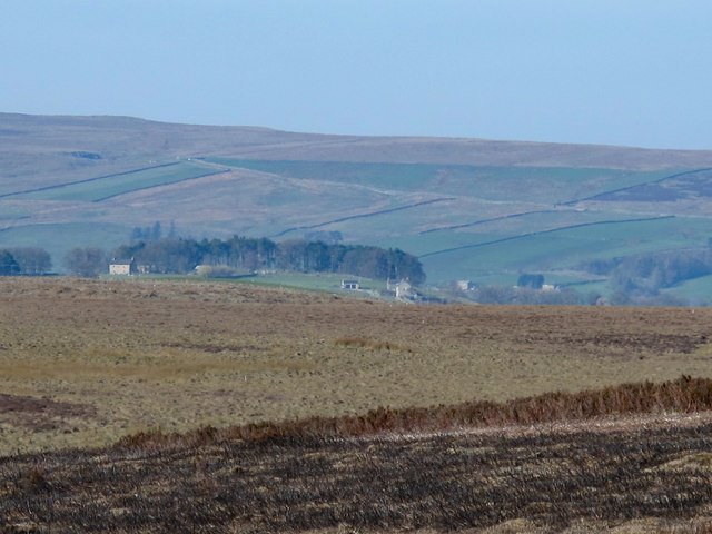 Moorland below Great Lawsley
