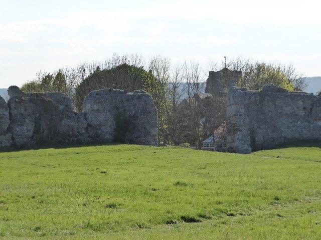 Pevensey Castle - Anderita Fort - Western Gate