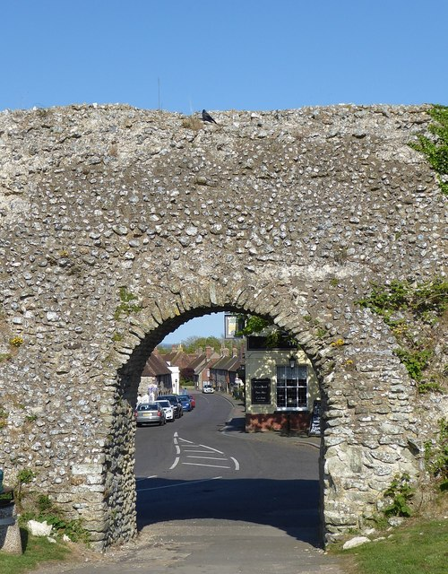Pevensey Castle - Anderita Fort - Eastern Gate
