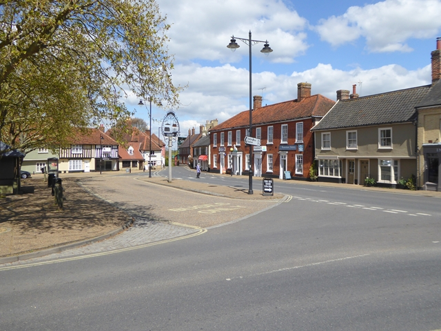 Village Square, Wickham Market