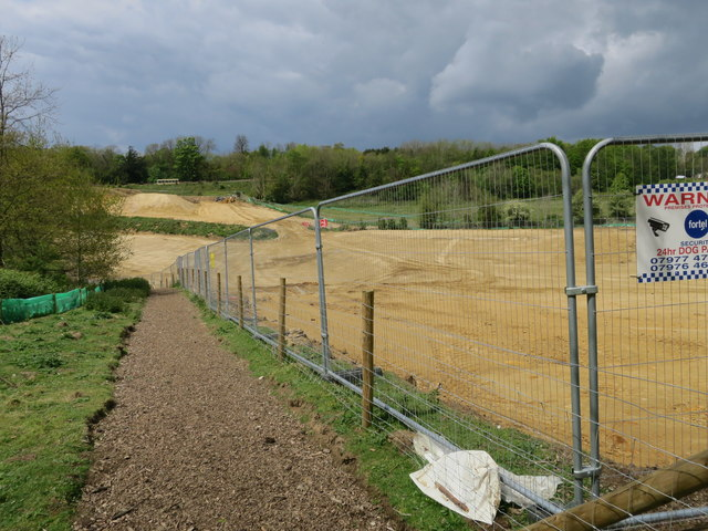 Footpath diversion for Baldslow Interchange construction