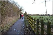 TL4258 : Harcamlow Way by N Chadwick