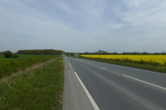 B1224 between roundabouts