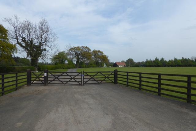 Entrance to Walton Cricket Club