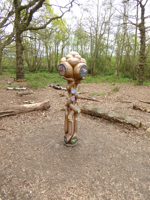 Sculpture at RSPB Minsmere