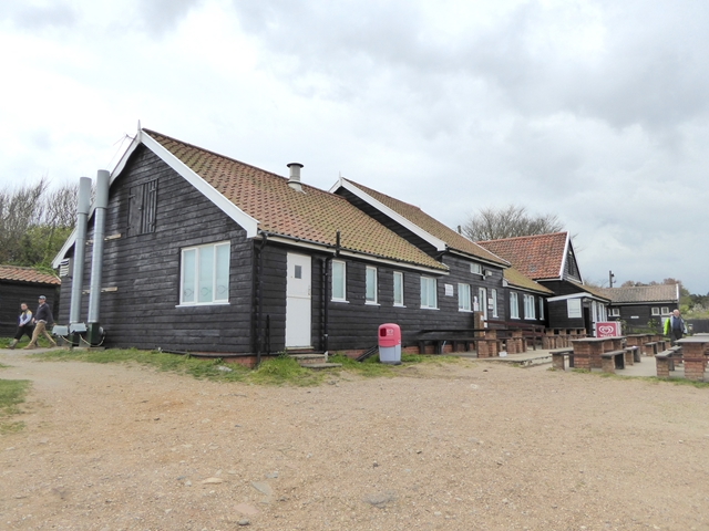 The cafe at Dunwich Beaach