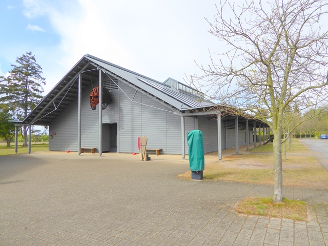 Exhibition Hall, Sutton Hoo