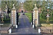TL4558 : Jesus College Gateway by N Chadwick