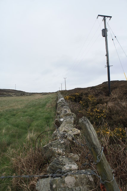 Pasture, Moorland, and Wall