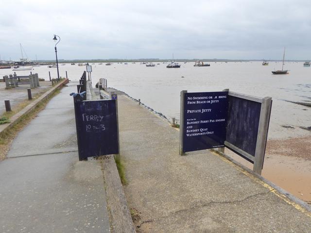 Bawdsey Ferry jetty