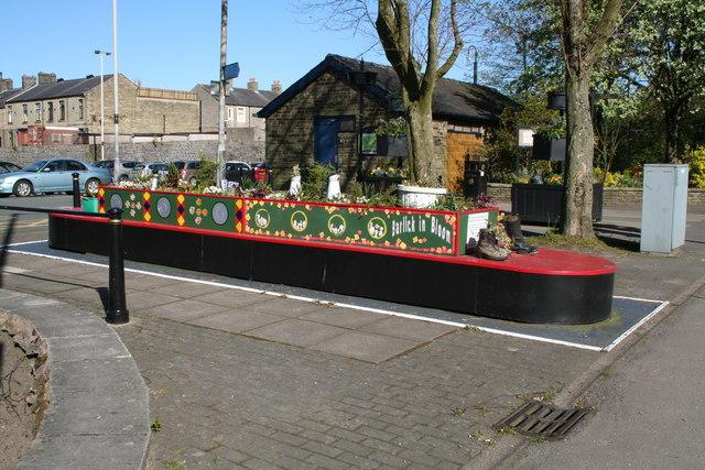 Barnoldswick:  Commemorative planter