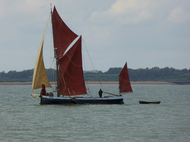 "Sailing barge ""Cygnet"""