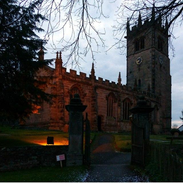 Church of St James, Gawsworth