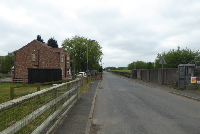 High Street in East Butterwick